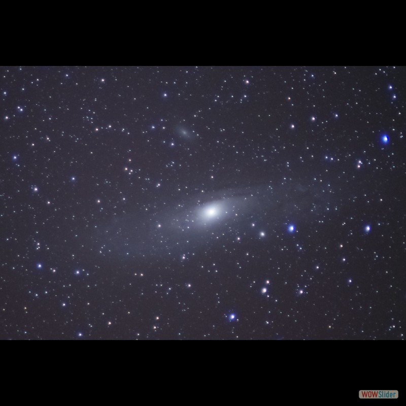 Andromeda M31 and M110